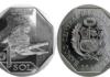 Moneda cocodrilo de Tumbes