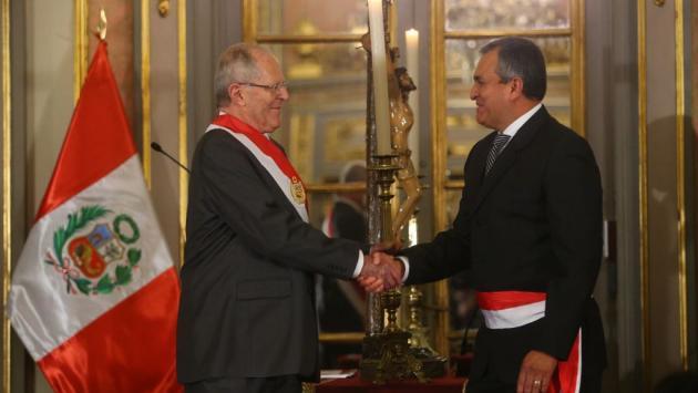 Pedro Pablo Kuczynski y Vicente Romero Fernández