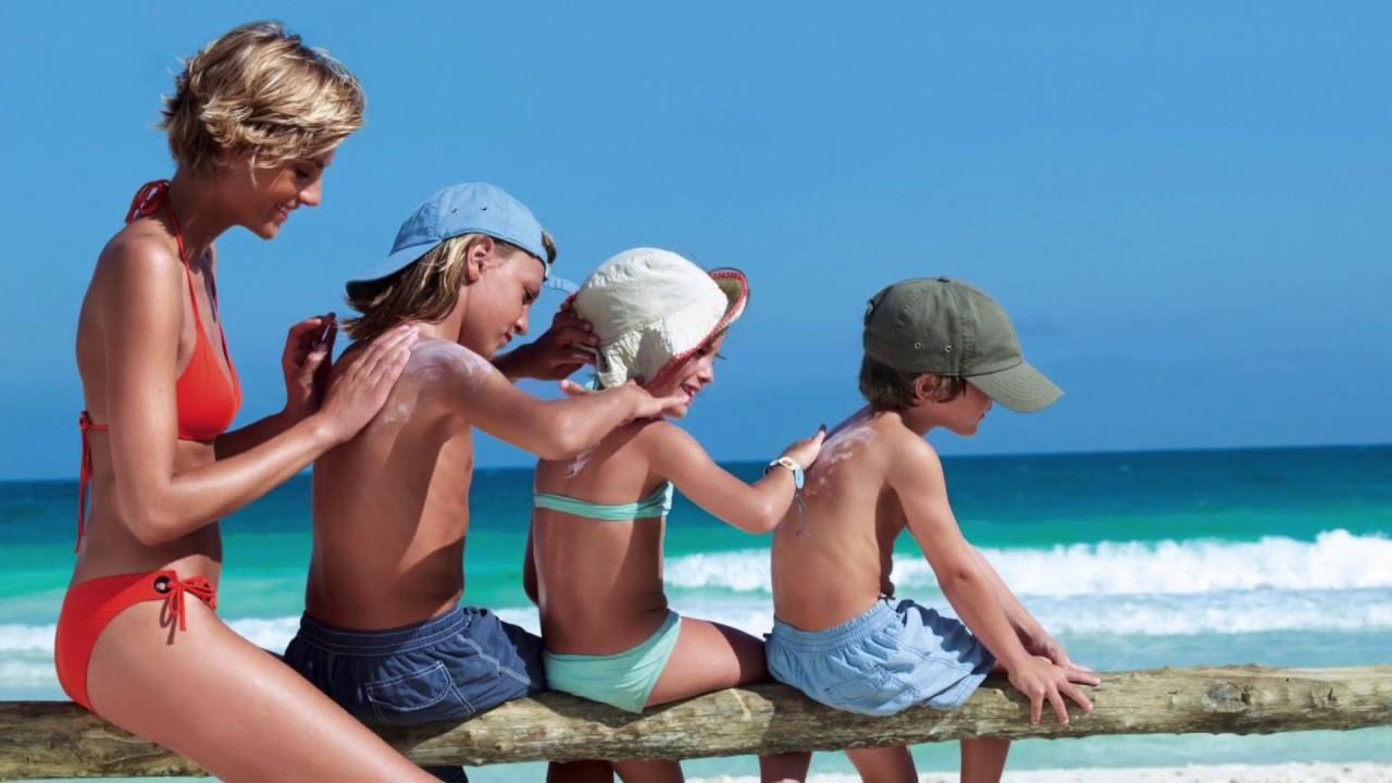 Resultado de imagen para protector solar playa