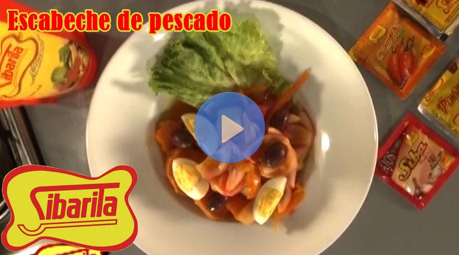 Vídeo Sibarita escabeche de pescado