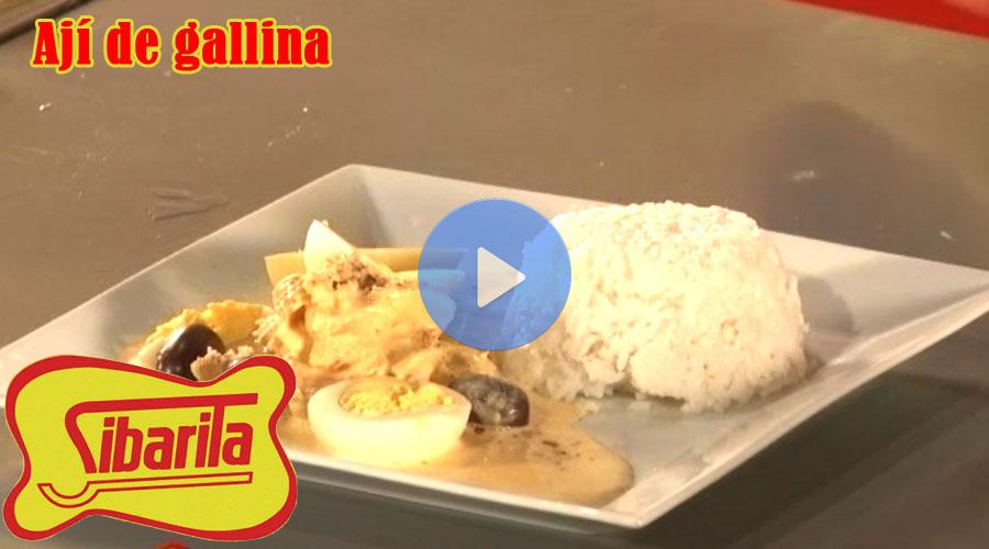 Vídeo Sibarita ají de gallina