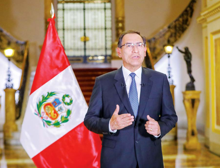 presidente de la República, Martín Vizcarra