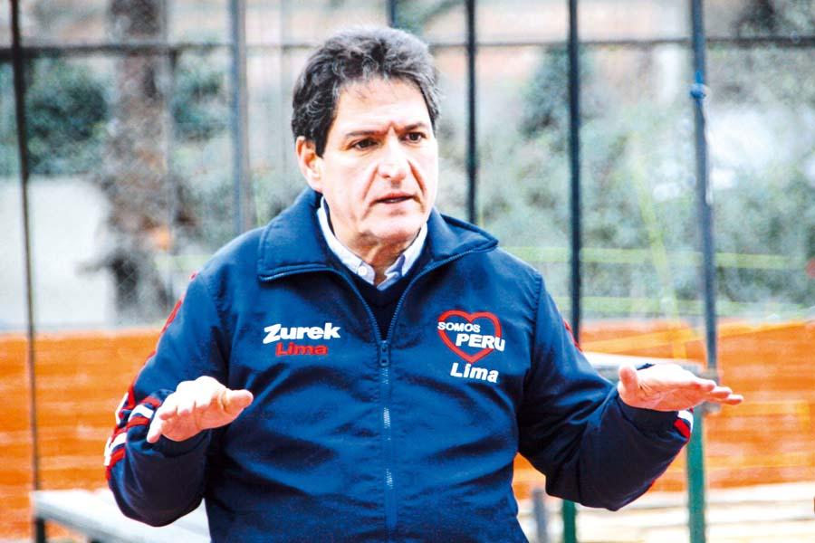 Juan Carlos Zurek, candidato a la alcaldía de Lima por Somos Perú