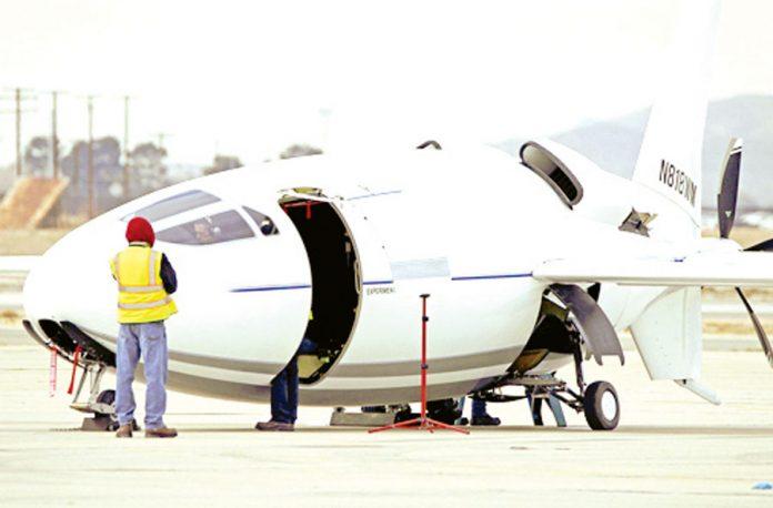 Celera 500L, avión-bala