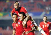 Chile gano por 3 a 0 a Japón
