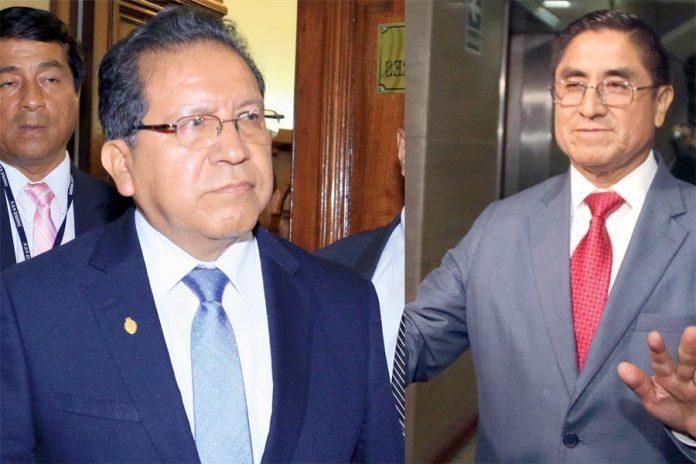 Pablo Sánchez y César Hinostroza