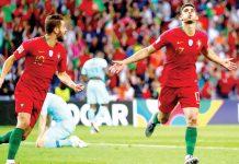 Portugal se coronó Como rey de Europa