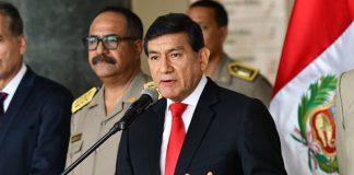 El ministro del Interior, Carlos Morán,