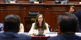 Presidenta de comisión de Constitución no se deja apurar por pedidos de Vizcarra.