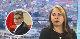 Patricia Tubilla Casanova, quién efectuó la denuncia contra José Domingo Pérez por presunto delito de plagio y falsedad ideológica