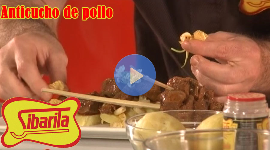Video Sibarita anticuho de pollo
