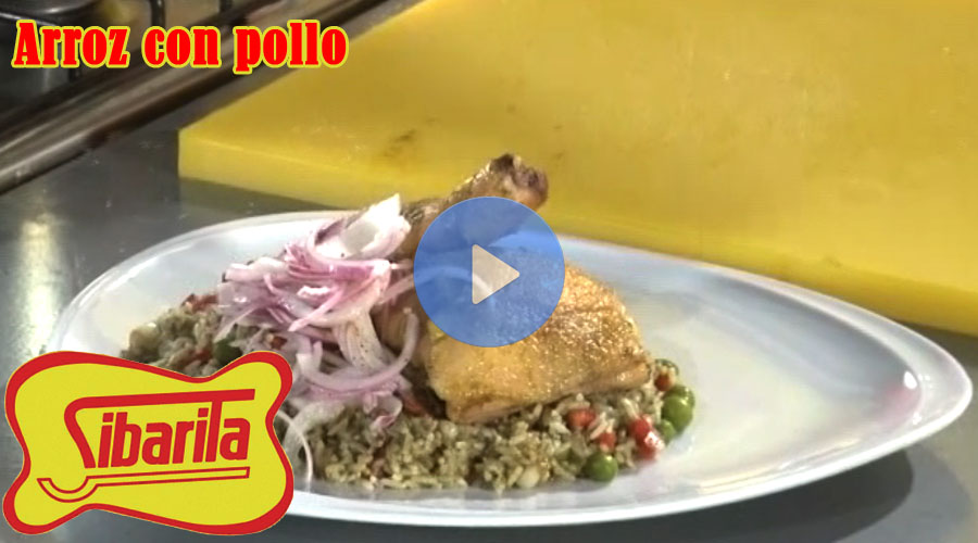 vídeo Sibarita arroz con pollo