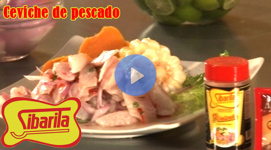 Video Sibarita Ceviche de pescado