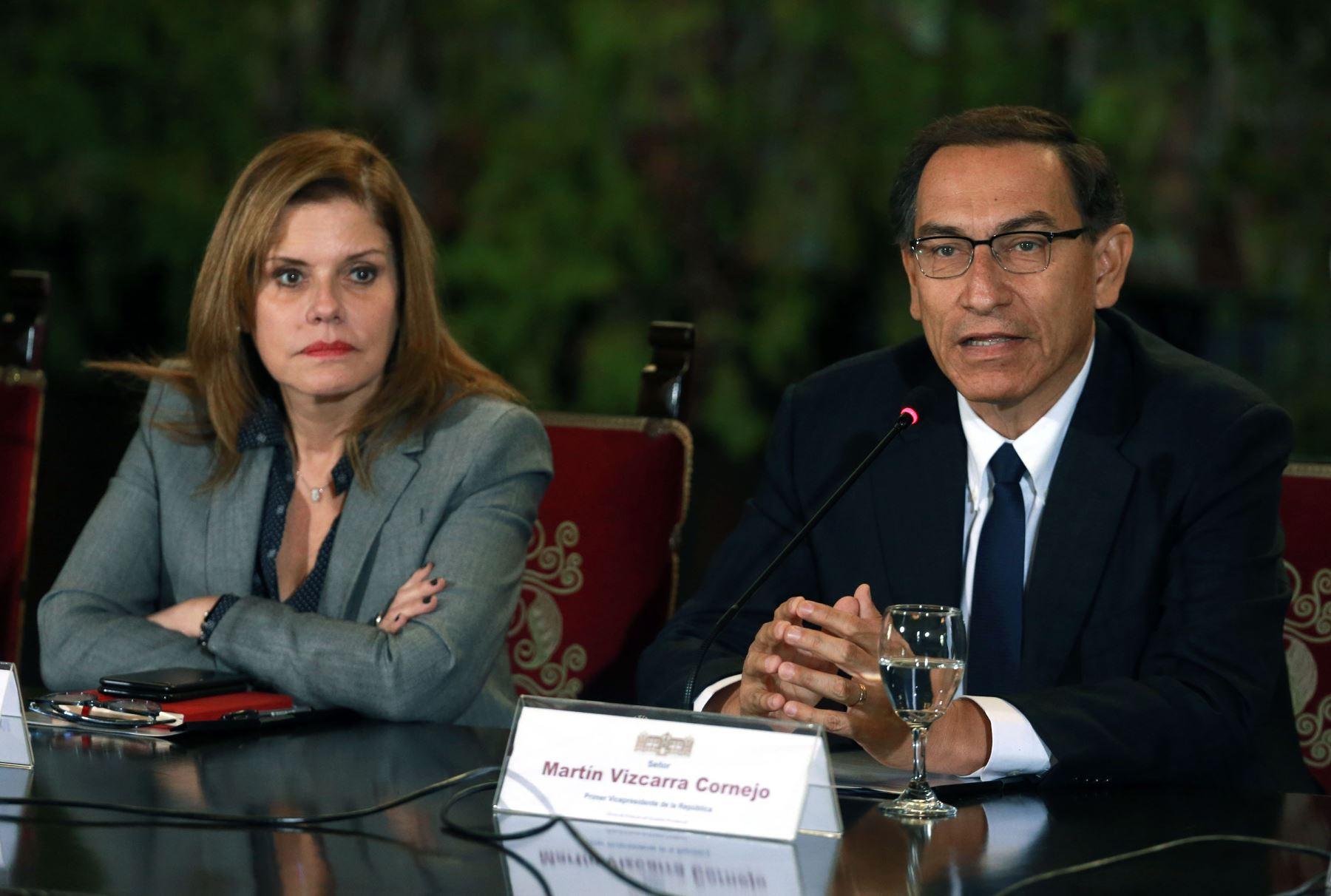 Mercedes Aráoz quería que Vizcarra no acepte ser presidente