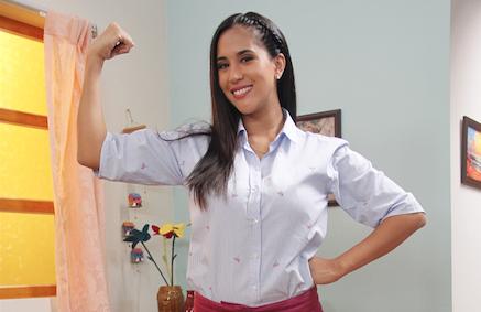 """Melissa Paredes: """"Las mujeres  peruanas somos corajudas"""""""