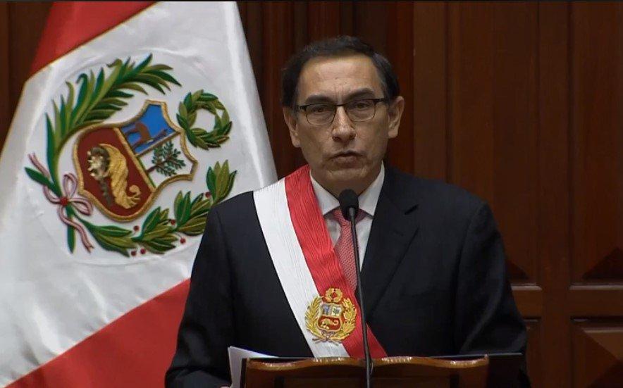 """Presidente Vizcarra afirma que """"no le temblará la mano frente a la corrupción"""""""