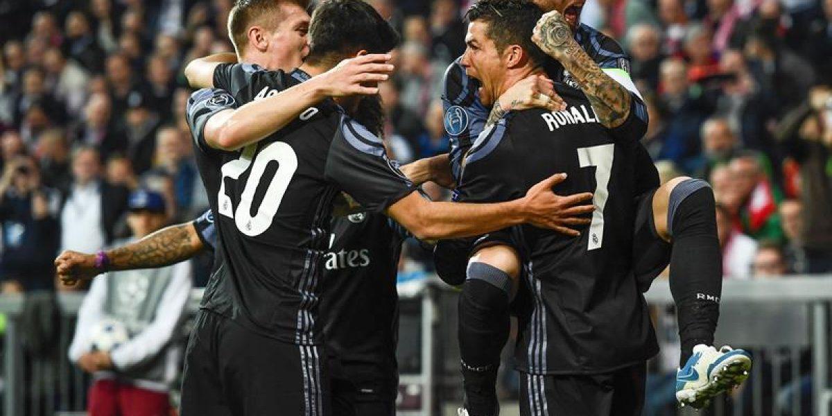 Real Madrid vence al Bayern Munich por 2-1