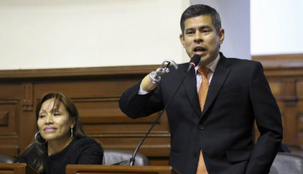 Galarreta: Plan de adquisiciones está dentro del marco legal