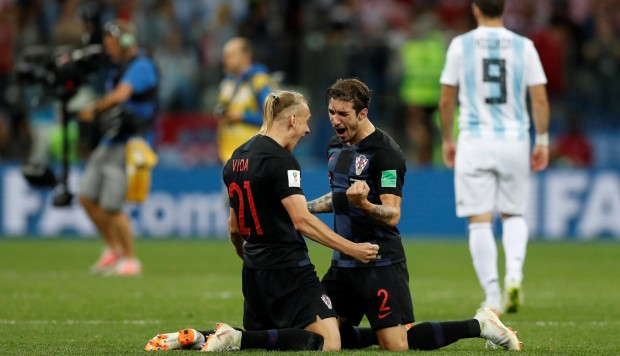 Croacia bailo y apabulló a Argentina por 3-0 en el Mundial Rusia 2018