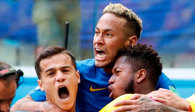 Brasil le ganó sobre la hora a Costa Rica por 2-0 en el Mundial Rusia 2018