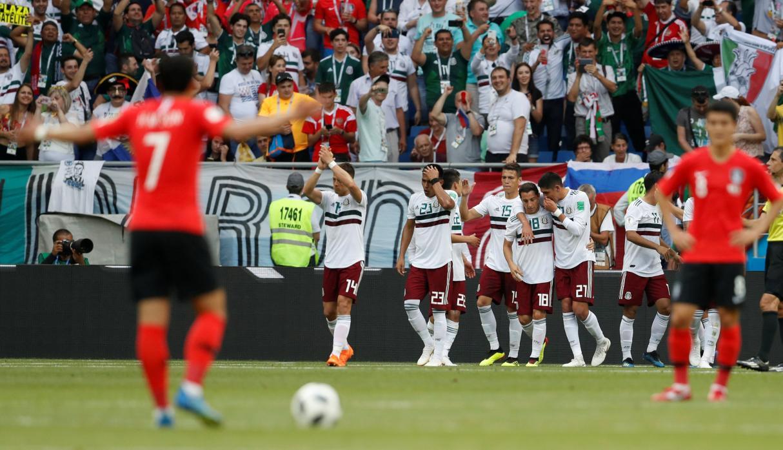 México derrotó 2-1 a Korea de Sur y aseguró su pase a octavos por el Mundial Rusia 2018