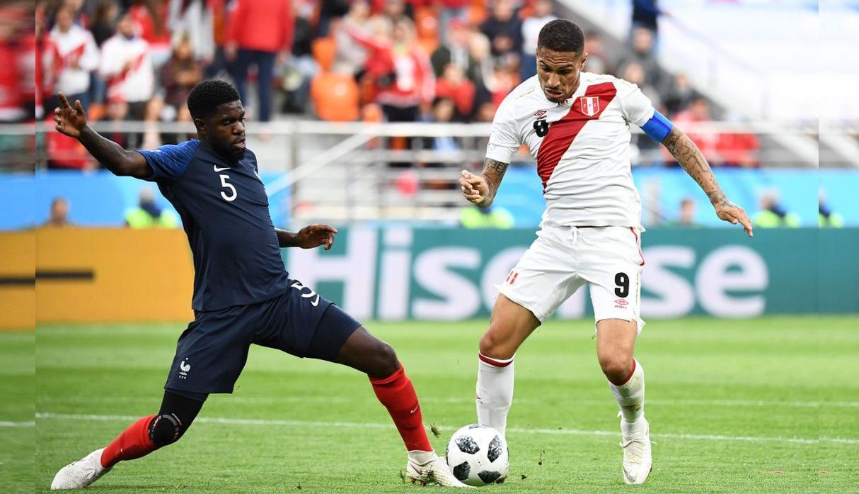 Perú cayó 0-1 ante Francia y se despide del Mundial Rusia 2018