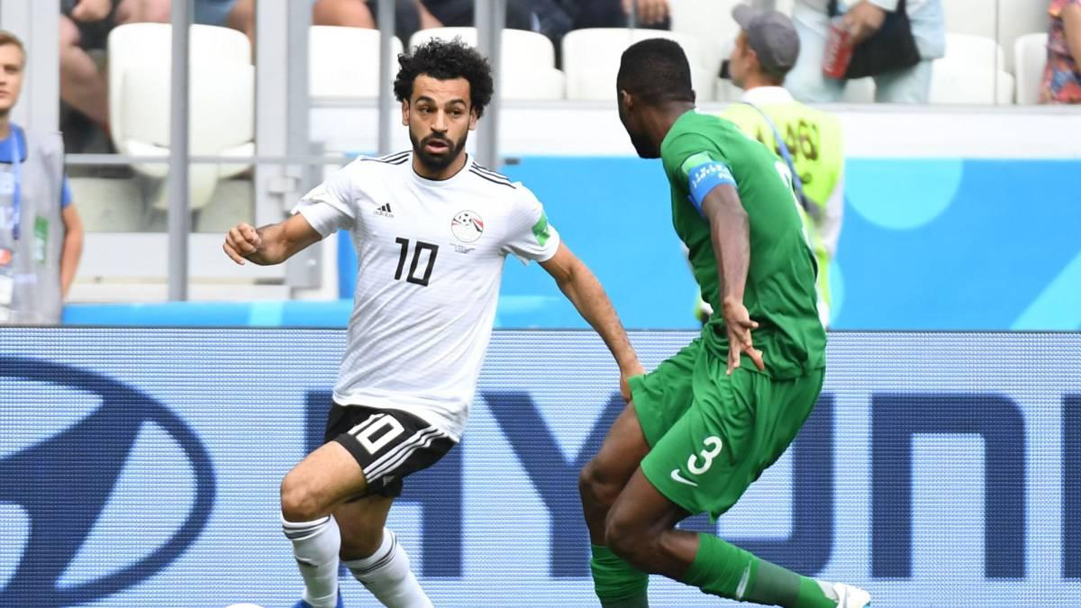Arabia Saudita le volteó el partido a Egipto 2-1 por el grupo A del Mundial Rusia 2018