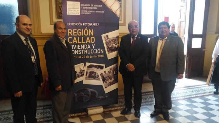 Exhiben fotos inéditas de la Región Callao en el Congreso