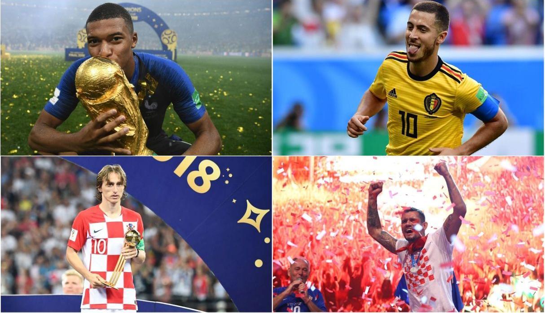 FIFA oficializó su once ideal del Mundial Rusia 2018