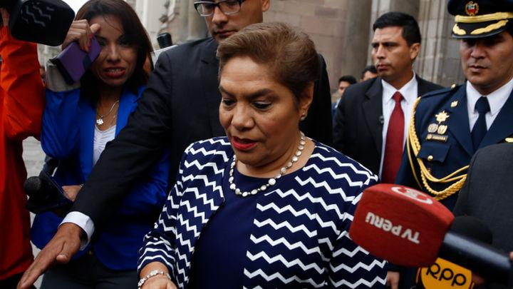 Salgado: «Fuerza Popular no tiene nada que ver con denuncia a Vizcarra»