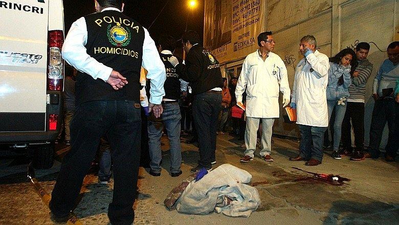 Mujer testigo presencial de  robo muere de un disparo