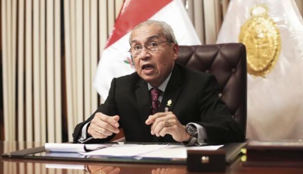Pedro Chávarry ratificó que no renunciará de la Fiscalía