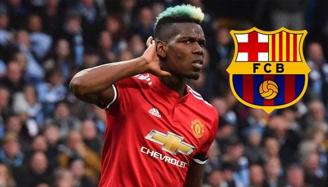 Pogba quiere dejar el Manchester United e ir al Barcelona, según prensa