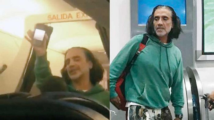 ¿ Alejandro Fernández subió ebrio a un avión?