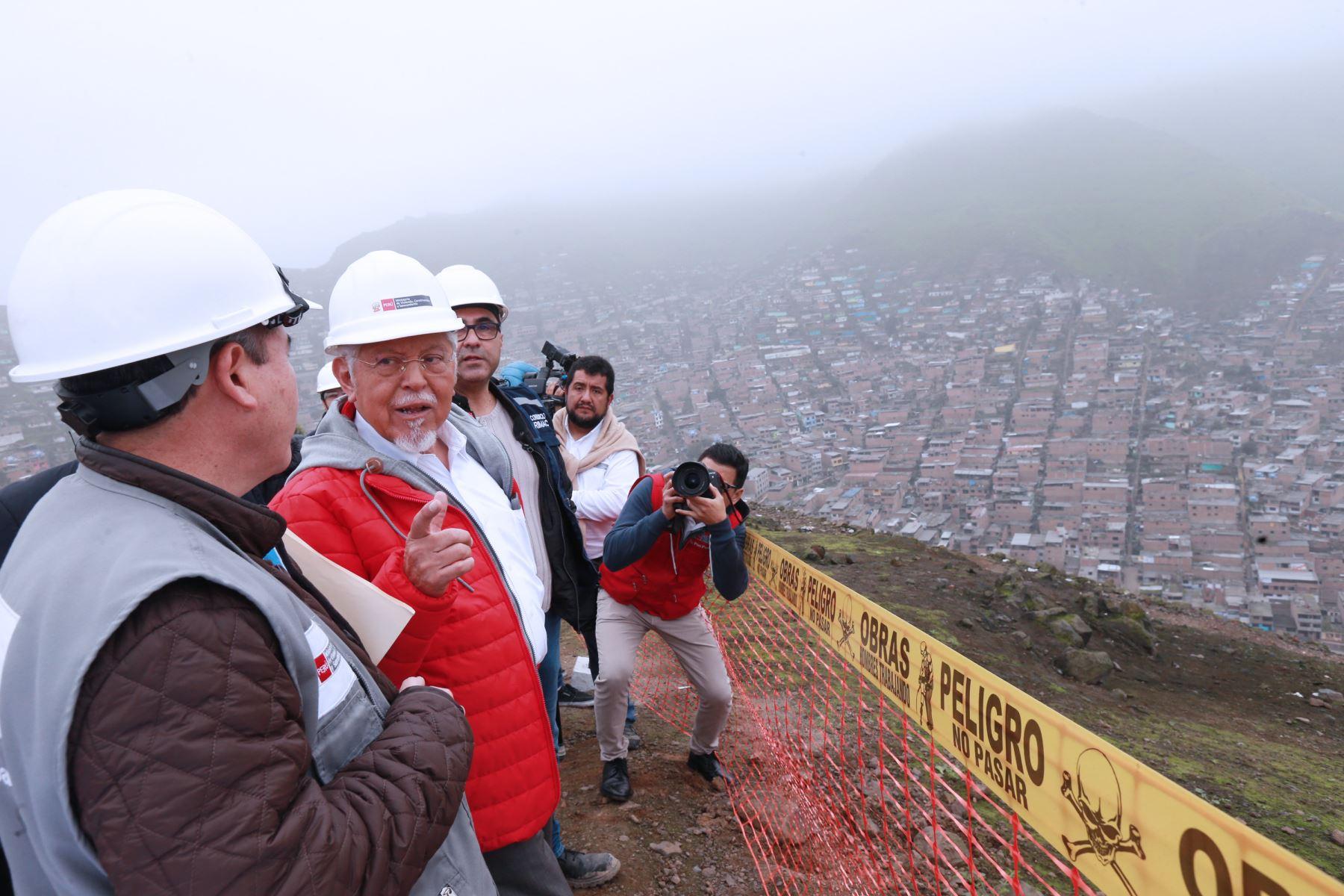 Proyecto San Juan Amancaes dará agua potable a 44 mil peruanos