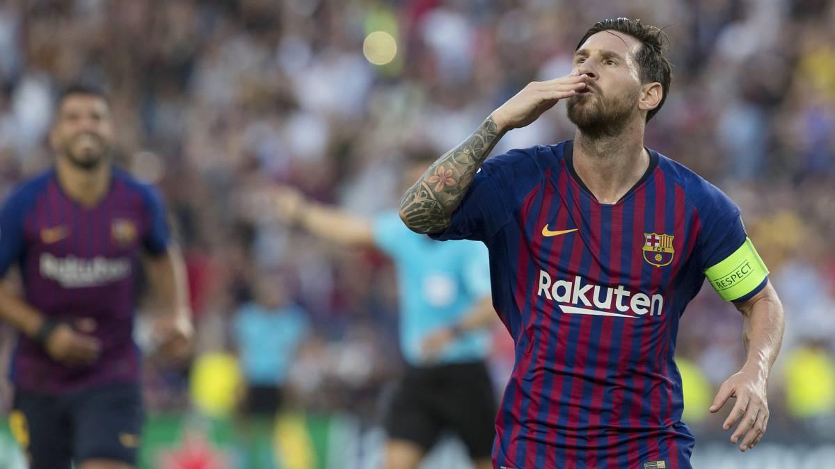 Con 'Hack Trick' de Messi: Barcelona apabulló 4-0 al PSV por el grupo B de la Champions League