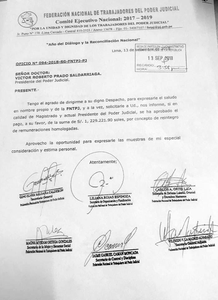 Federación Nacional de Trabajadores del Poder Judicial