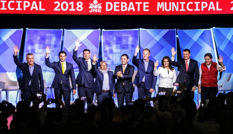 Candidatos expusieron sus planes para Lima