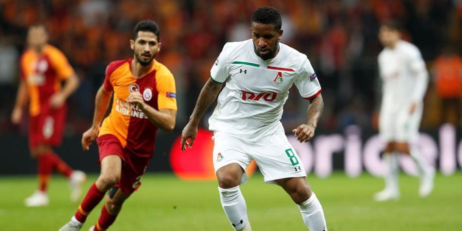 Lokomotiv de Farfán cayó goleado ante el Galatasaray por la Champions League