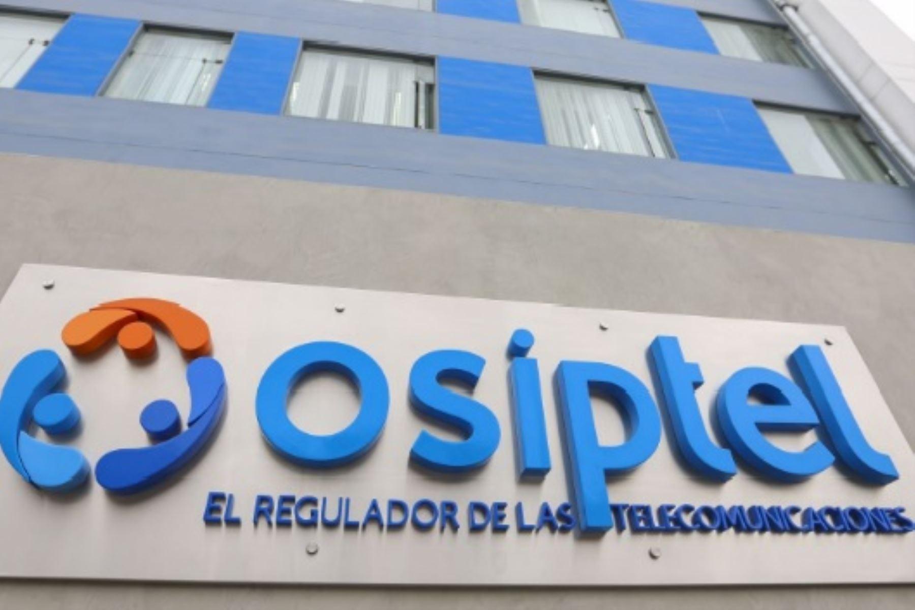 Osiptel fortalece función supervisora de servicios de telecomunicaciones