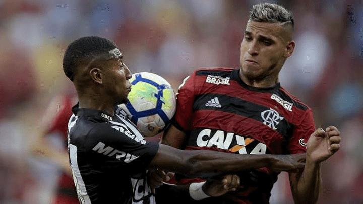 Trauco reapareció en Flamengo