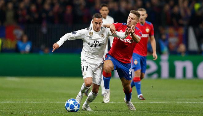 Real Madrid cayó 1-0 ante CSKA Moscú en la Champions League