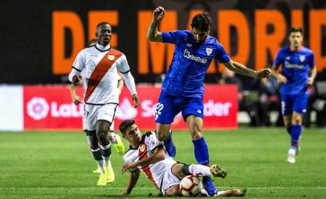 Con un jugadón de Advíncula, Rayo Vallecano empató 1-1 ante Athletic de Bilbao