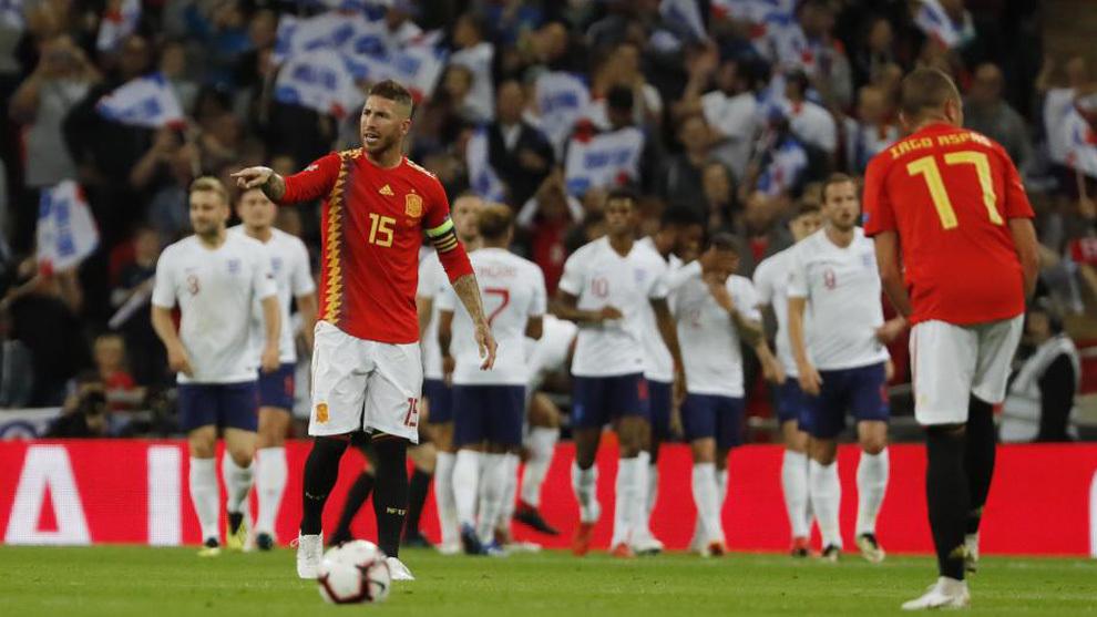 Inglaterra se impuso 3-2 a España por la Liga de Naciones