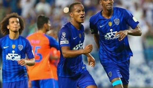 Carrillo jugó todo el partido en el empate del Al Hilal