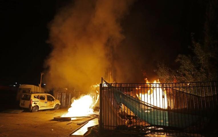 ataque de palestinos a israel