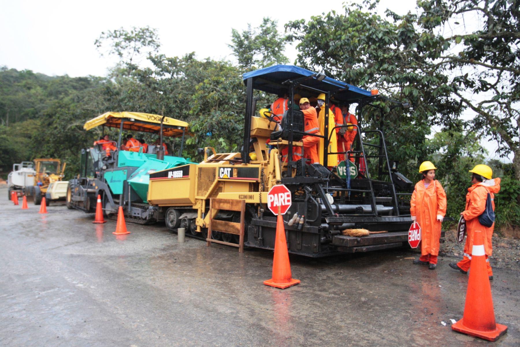 Trabaja Perú transfiere S/ 17.3 millones para ejecución de obras públicas