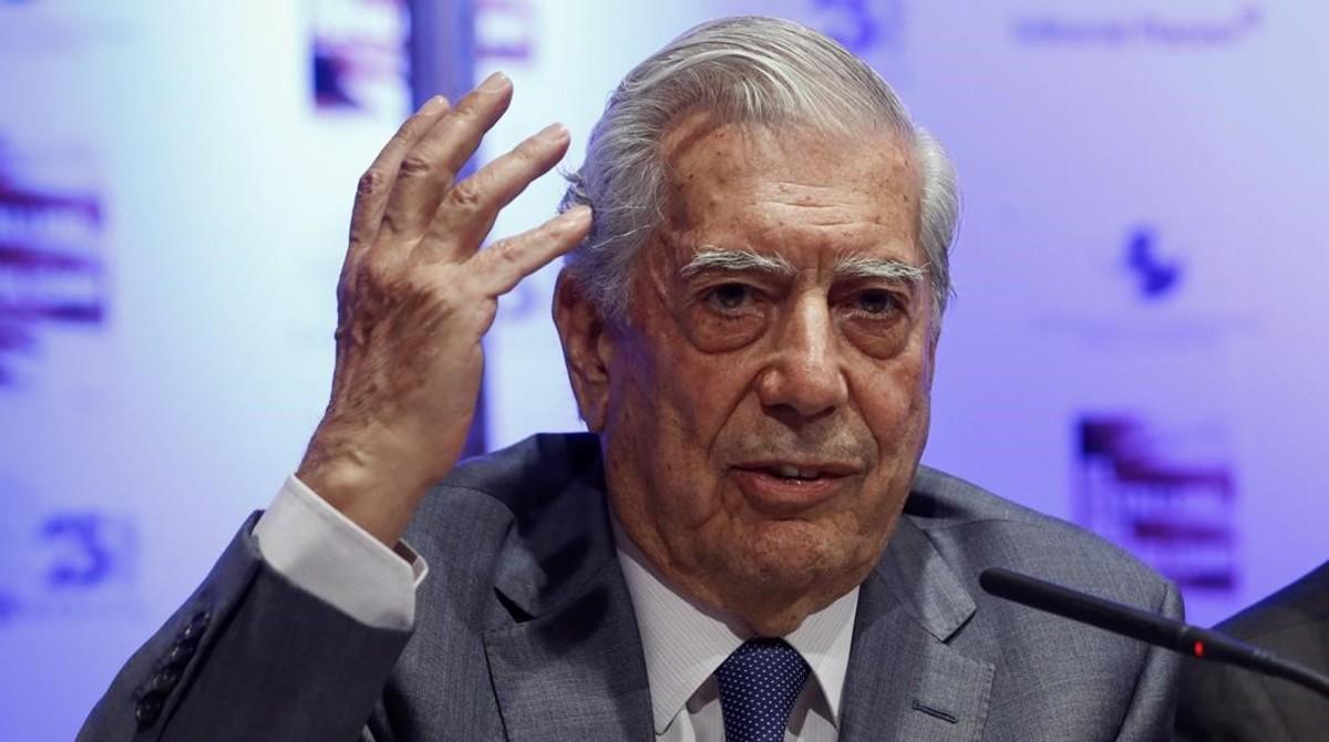 Vargas Llosa destaca posición peruana sobre Venezuela