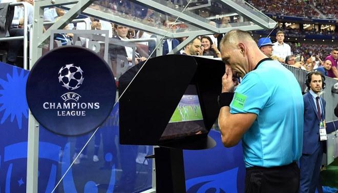 La champions League tendrá VAR desde los octavos de final
