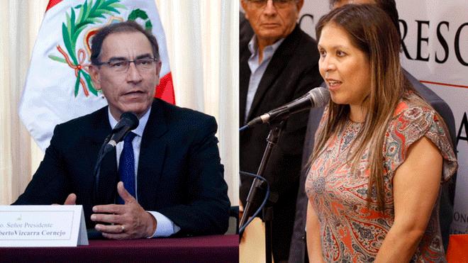 Yeni Vilcatoma presentará una denuncia constitucional contra Martín Vizcarra